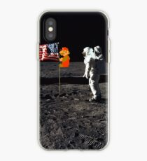 Super Mario On the Moon iPhone Case
