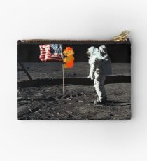 Super Mario On the Moon Studio Pouch