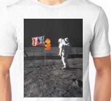 Super Mario On the Moon Unisex T-Shirt