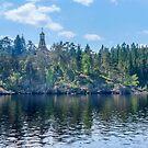 Skete on Valaam Island by Svetlana Korneliuk