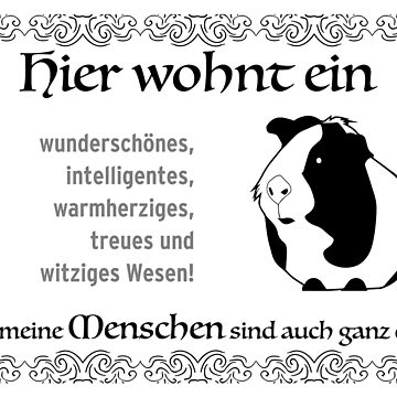 Guinea pig design for rodent fans. My owner is okay too by qwerdenker