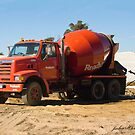 Concrete Truck by JuliaKHarwood