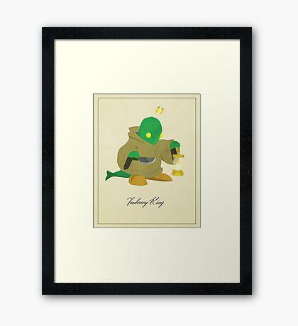 Tonberry King Framed Print