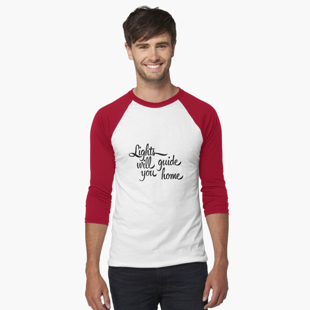 And I Will Try Men's Baseball ¾ T-Shirt Front