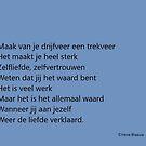 Poetry by Wijzermetirene