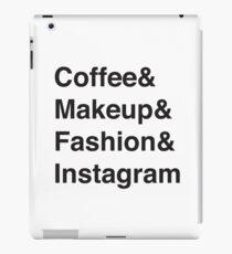 Coffee & Makeup & Fashion & Instagram iPad Case/Skin
