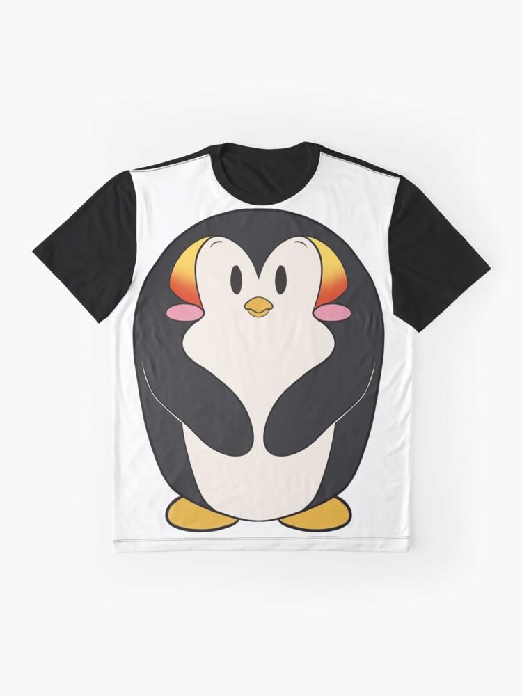 Alternative Ansicht von Kawaii Kaiserpinguin Grafik T-Shirt