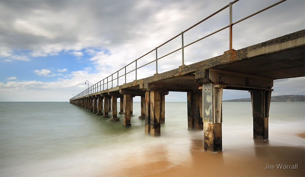 Dromana Pier by Jim Worrall