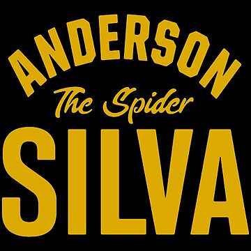 Anderson Silva Old School by MillSociety