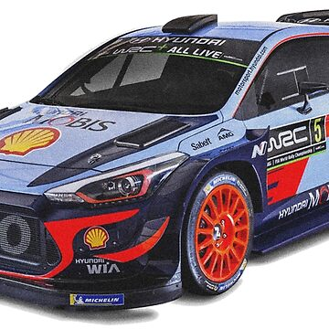 HYUNDAI I20 COUPE WRC /// Thierry Neuville by bubbles-garage