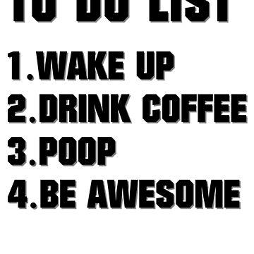 Coffee - ToDo List by Skullz23