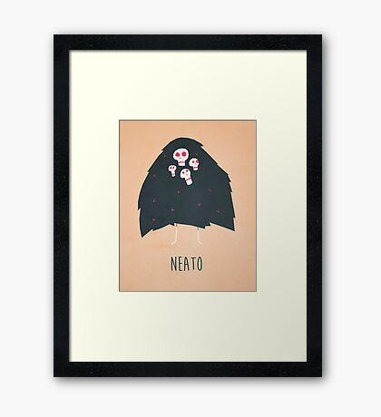Neato Framed Print
