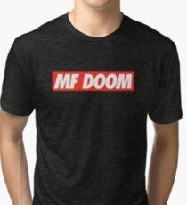 OBEY MF DOOM! Tri-blend T-Shirt