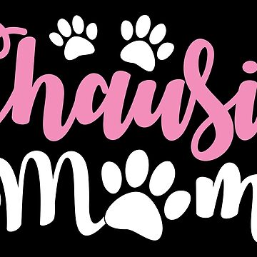 Chausie Cat mom mum with cute kitty cat paw by jazzydevil