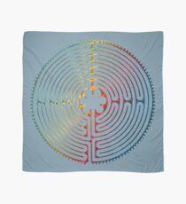 Symbol der heiligen Geometrie - Chartres Labyrinth 3 Tuch