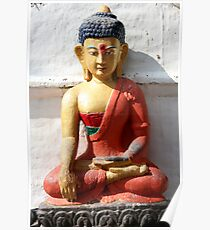 Buddhism statue Poster
