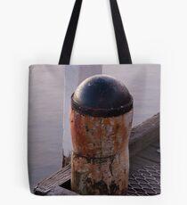 Bollard - Altona Pier Tote Bag