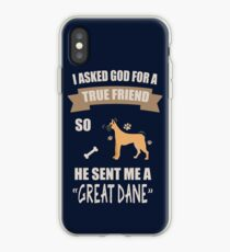 I Love My Great Dane Gifts iPhone Case