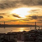 Lisbon at Dusk by Viv Thompson