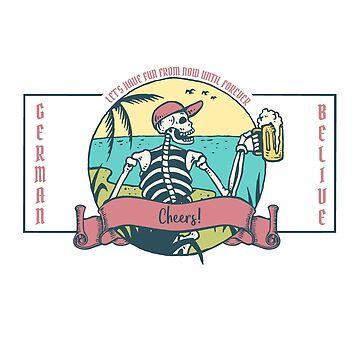"""Cheers """"Skullversion"""" by Legendemax"""