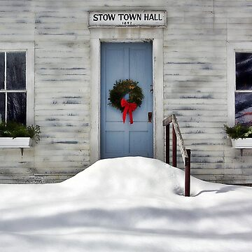 The Stow Town Hall 1842 - Stow,  Maine by rural-guy