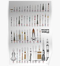 Rockets of the World  ⛔ HQ quality Poster