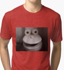 Toilet humour Tri-blend T-Shirt