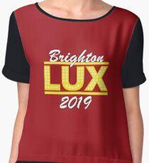 Lucifer Brighton Lux Design # 1 Chiffon Top