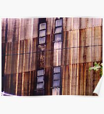 corrugations... Poster