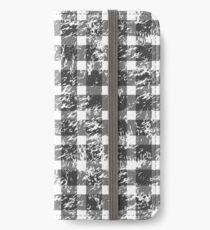 Snowy Buffalo Plaid iPhone Wallet/Case/Skin