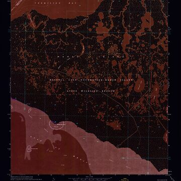 USGS TOPO Map Louisiana LA Bayou Lucien 331362 1968 24000 Inverted by wetdryvac