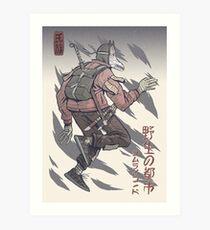 Street Savage Kabuki-Mono #4 Impression artistique