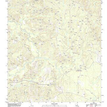USGS TOPO Map Louisiana LA Bayou Livrogne 20120405 TM by wetdryvac