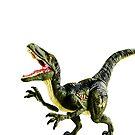 Dinosaur Velociraptor - Dino tee - Party Fun t-Shirt by VIDDAtees