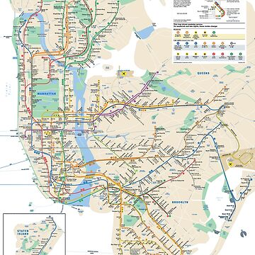 #NY #subway #map #famousplace #BrooklynBridge #CityHall #ChambersStreet #NewYorkCity #USA #map #cartography #topography #travel #country #guidance #vector #graph#colorimage #newyorkstate #NYSubwayMap by znamenski