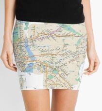 #NY #subway #map #famousplace #BrooklynBridge #CityHall #ChambersStreet #NewYorkCity #USA #map #cartography #topography #travel #country #guidance #vector #graph#colorimage #newyorkstate #NYSubwayMap Mini Skirt