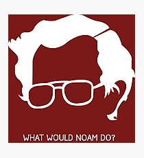 Noam Chomsky Photographic Print