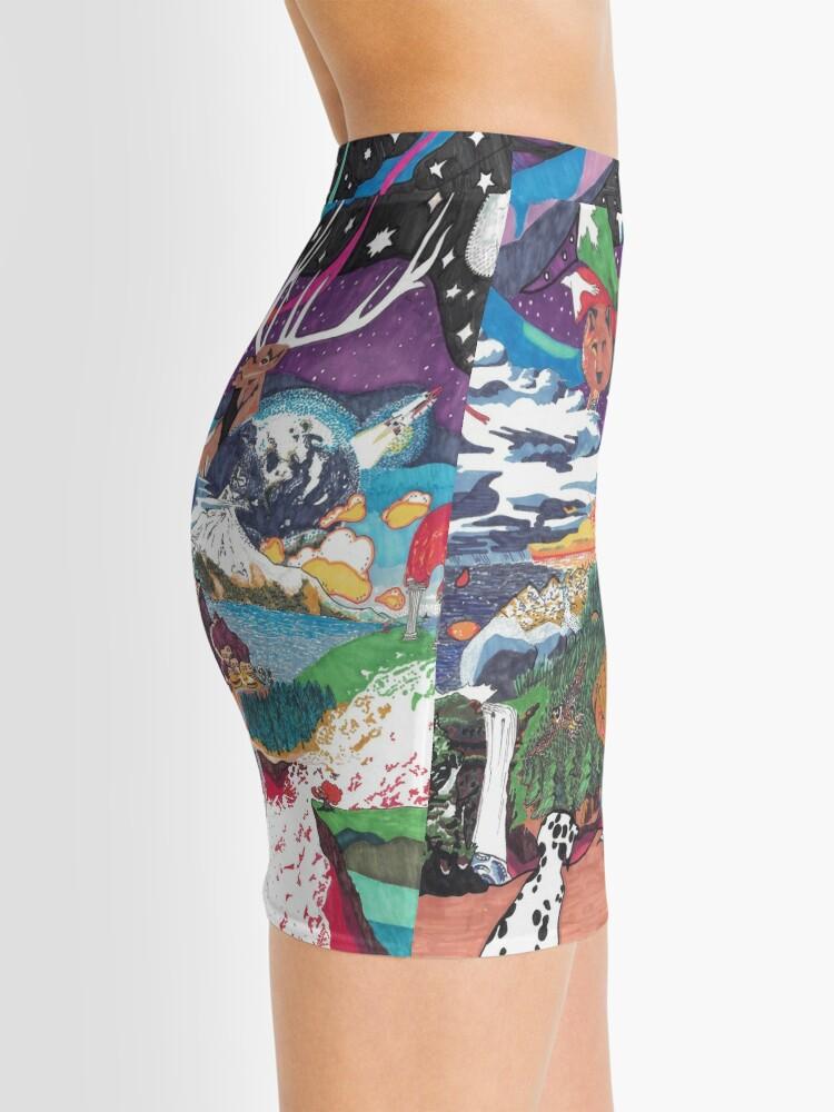 Alternative Ansicht von The Fabric Minirock