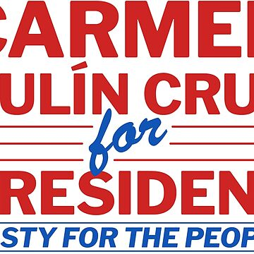 Carmen Yulin-Cruz for President by codyjoseph