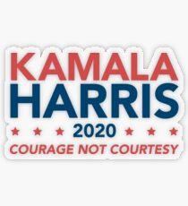 Kamala Harris for President Transparent Sticker