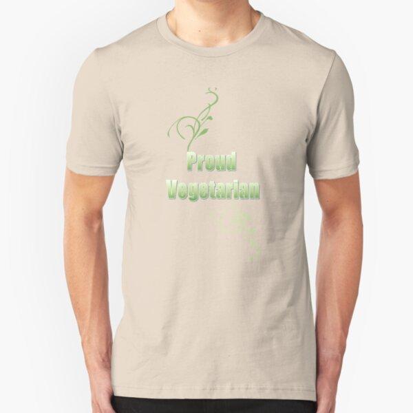 Proud Vegetarian Slim Fit T-Shirt