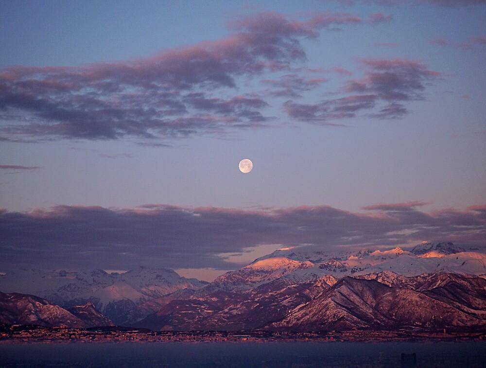 Alpine Moon by Stefano  De Rosa