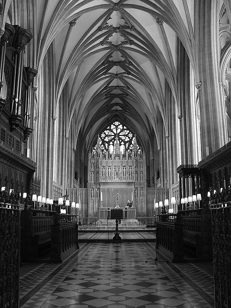 High Altar, Bristol Cathedral  by Andrew  Bailey