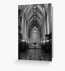High Altar, Bristol Cathedral  Greeting Card