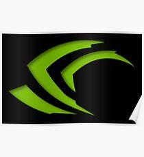 Nvidia Claw Logo Poster