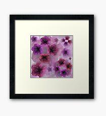 Petunia Shades Framed Art Print