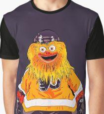 Camiseta gráfica La mascota arenilla de los aviadores
