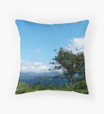 The Llyn of Lorn Throw Pillow
