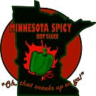 """Minnesota Spicy"" Green Bell Pepper Hot Sauce by Muninn"