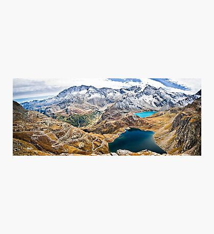 Laghi Agnel e Serru` ~ Nivolet ~ Panorama Photographic Print